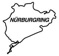 nurburgring sticker race track day car evo M3 tdi golf gti wrx sti vti turbo 024