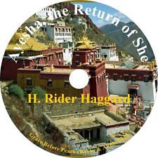 Ayesha, the Return of She Adventure Audiobook by H Rider Haggard on 1 MP3 CD