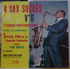 GUY LAFITTE 4 SAX SUCCES VOL. 6 FRENCH  EP PATHE 1961