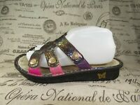Womens Alegria PG VEN 724 Venus Purple Gleam Women's Slide Sandal Size 39 ~ US 9