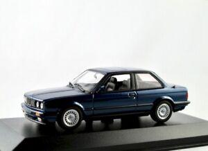 BMW 3er (E30)  1987-1991  blau metallic  / Minichamps/Maxichamps 1:43