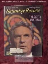 SATURDAY REVIEW November 13 1976 PETER FINCH NETWORK ANTHONY WOLFF WILLIAM STEIF