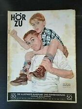 Hör Zu Nr. 30 von 1956 mit Kurt Ard Motiv und Mecki - komplett - Vatertag