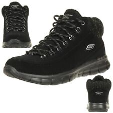 Skechers 12122 Synergy Winter Nights - Black (leather) Womens Trainers 38 EU 21243196