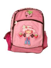 "Strawberry Shortcake Large BACKPACK 16"" School bag New"