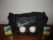 2 Worth RIF Level 10 Baseballs & Nike Duffel Sports Bag