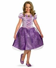 DISNEY'S TANGLED PRINCESS RAPUNZEL CHILD HALLOWEEN COSTUME GIRLS SIZE MEDIUM 7-8