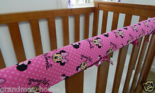 Baby Cot Rail Cover Crib Teething Pad - Minnie Mouse - All About Minnie