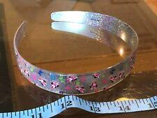 Mouse Silver Bow Motif Minnie Cute Hair Head Band Alice