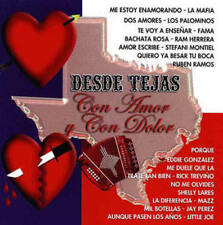 VARIOUS ARTISTS - DESDE TEJAS CON AMOR NEW CD
