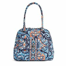 "Vera Bradley Turn Lock Satchel Bag Purse ""Marrakesh"" Retired Patterns NWT!"