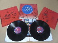 La cura desiderio FICTION 2 X LP RARO ORIGINALE 1992 UK 1ST premendo & INSERT FIXH20