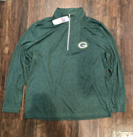 Green Bay Packers NFL Team Apparel Long Sleeve Jacket SIZE X-LARGE (XL)