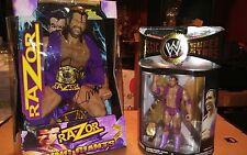 WWE Custom Razor Ramon Ring Giant elite deluxe basic hasbro wwf classic