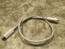 OEM Genuine Apple Thunderbolt to Thunderbolt Cable Model A1410 (0.5 m)