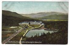 1906 New Hampshire White Mountains NH Crawford House Saco Lake postcard