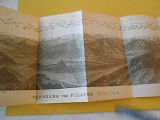 1920 Panorama Vom Pillatus ( Esel ) 2121 m