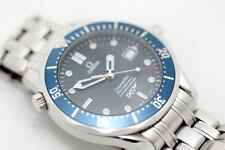 Omega Seamaster Full Size 40th Anniversary James Bond Limited Edition Watch