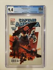 CAPTAIN AMERICA #6 CGC 9.4 1ST WINTER SOLDIER Falcon and WS Disney + Hot Book