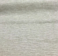 P Kaufmann Ocean Shore Sheer Natural Linen Look Fabric by the yard