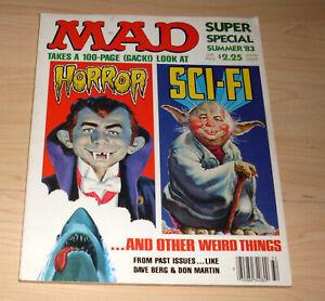 Comic Heft - MAD Super Special Summer '83 - Horror + Sci-Fi - Englisch