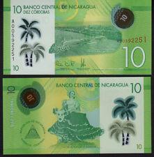 Nicaragua 10 Cordobas, 2015 P209 Mint Unc