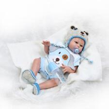 "Anatomically Correct 20"" Reborn Baby Doll Boy Full Body Silicone Vinyl Bath Toy"