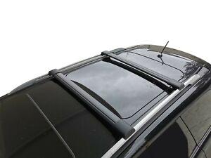 Alloy Roof Rack Slim Cross Bar for Nissan Pathfinder R52 2014-20 Lockable Black