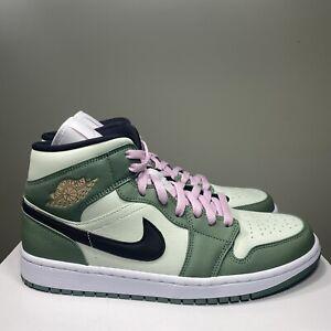 Nike Air Jordan 1 Mid SE Dutch Green Black CZ0774-300 Women's Size 11.5 Men's 10
