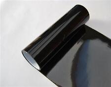 Car Headlight Gloss black Vinyl Wrap Film Sheet Cover Decal Protector Sticker