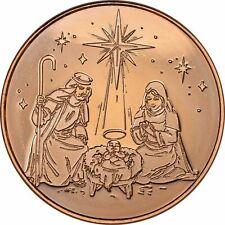 1 oz Copper Round - Nativity