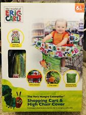 New The World of Eric Carle Hungry Caterpillar Shopping Cart & High Chair Cover