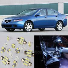 14pcs White Interior LED Light Package Kit for Acura TSX 2004-2008