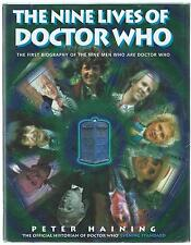 The Nine Lives Of Doctor Who Peter Haining Headline 1999 Ex-Library Hardback G-