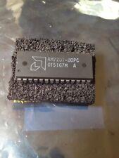 5x AMD AM7201-80JC,  AM720180JC, 512 X 9 OTHER FIFO, 80ns DIP Package NOS