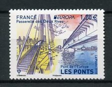 France 2018 MNH Bridges Europa Bridge 1v Set Architecture Stamps