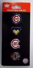 Chicago Cubs Logo Pin Set
