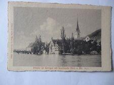 Ansichtskarte Kloster St. Georgen mit Stadtkirche Stein a. Rh. 1910