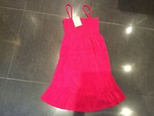 NWT Juicy Couture New & Genuine Ladies Pink Cotton Maternity Sun Dress UK 8/10
