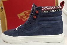 Vans SK8-Hi MTE Sneaker Boot Suede Purple Parisian Hiking Shoe Men 7 , Women 8.5