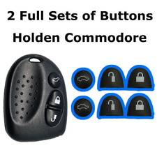 Repair 2 Full Sets of Key Buttons Remote For Holden Commodore VS VT VX VY VZ WH