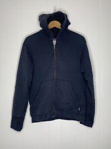 Patagonia Organic Cotton Full-Zip Hoodie Jacket Men's Size Small Blue