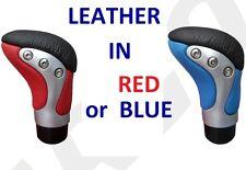Rojo O Azul Real De Cuero Coche Gear Palo Perilla Nob-Alta Calidad
