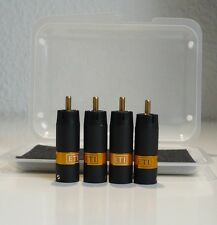 ETI RESEARCH - LINK RCA - 4 STÜCK - 4 PIECES - BULLET PLUG UPGRADE
