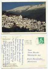 21277-las Alpujarras-andalucia-Granada-anischtskarte, corriendo 18.5.1989