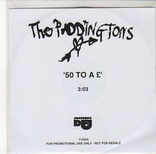 (EQ478) The Prddingtons, 50 To A £ - 2005 DJ CD