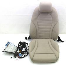 Mercedes W253 GLC Sitzpolster Polster Beifahrersitz belüftet SHZ Ledersitz beige