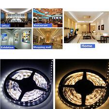 5M 3528 5050 SMD 150/300/600 Led Strip Light LED Flexible Light Cool/Warm white