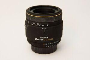 Sigma EX 50mm f/2.8 DG Macro Lens for Nikon