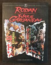 Rodan / War of The Gargantuas (DVD, 2008, 2-Disc Set) Ishiro Honda Kaiju